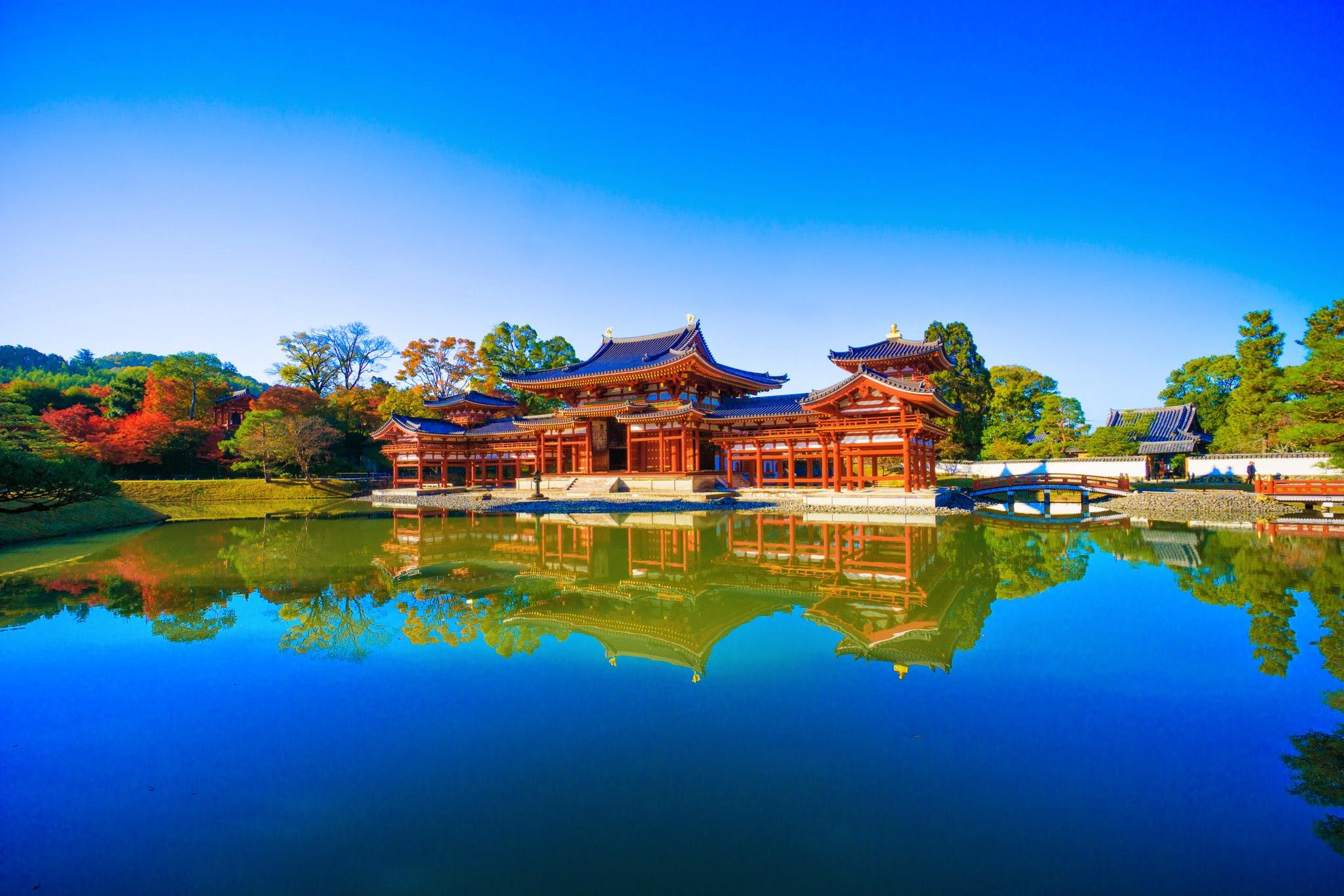 京都 紅葉 平等院鳳凰堂 アイキャッチ画像