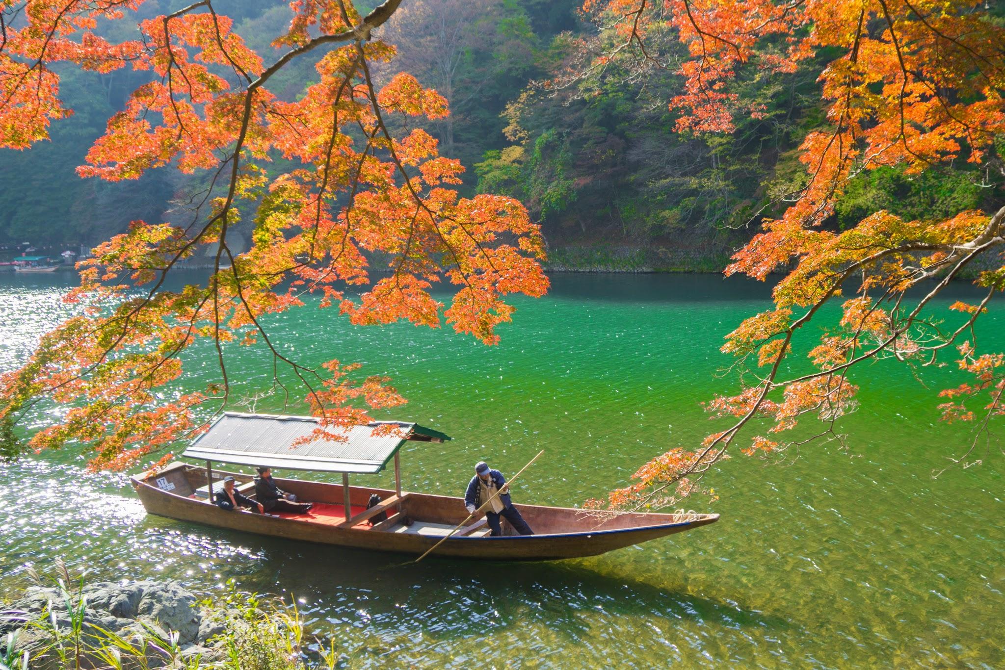 京都 嵐山 紅葉 アイキャッチ画像