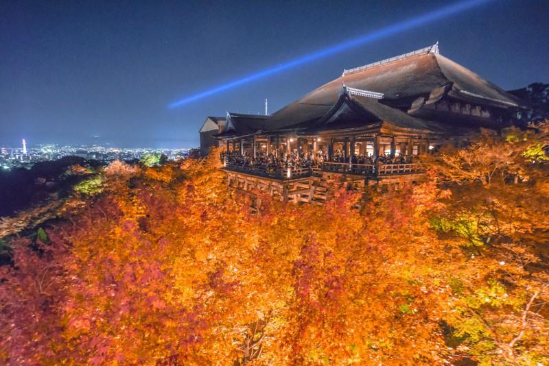 京都 紅葉 清水寺 アイキャッチ画像