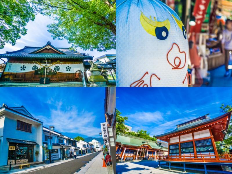 松本神社・縄手通り・中町通り・深志神社 アイキャッチ画像