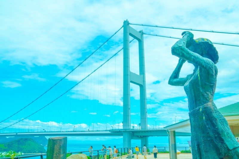 しまなみ海道 来島海峡大橋 アイキャッチ画像