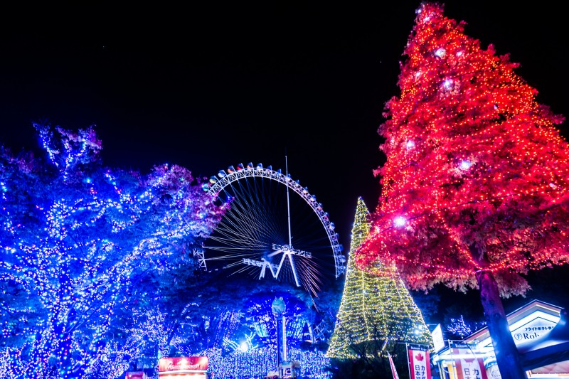 Yomiuri Land Illumination featured image