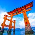 厳島神社 干潮 アイキャッチ画像
