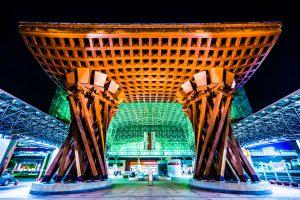 金沢駅 鼓門 ライトアップ アイキャッチ画像