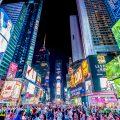 ニューヨーク タイムズスクエア アイキャッチ画像