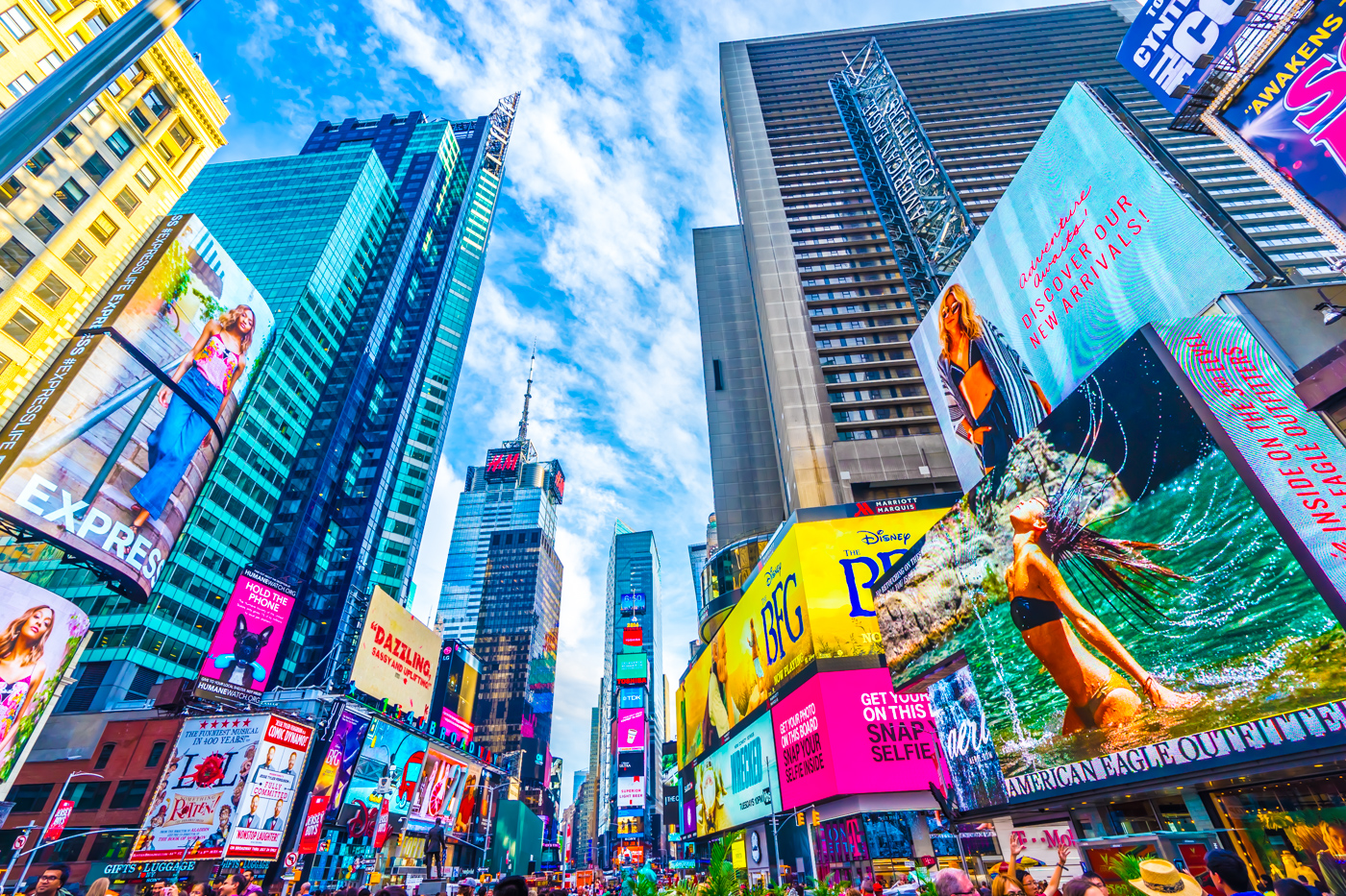 ニューヨーク タイムズ・スクエア アイキャッチ画像