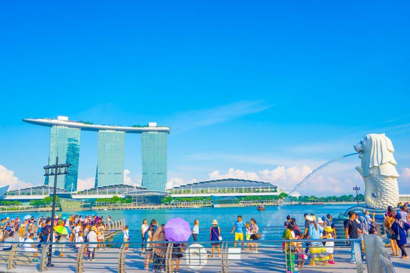 Image result for merlion park singapore