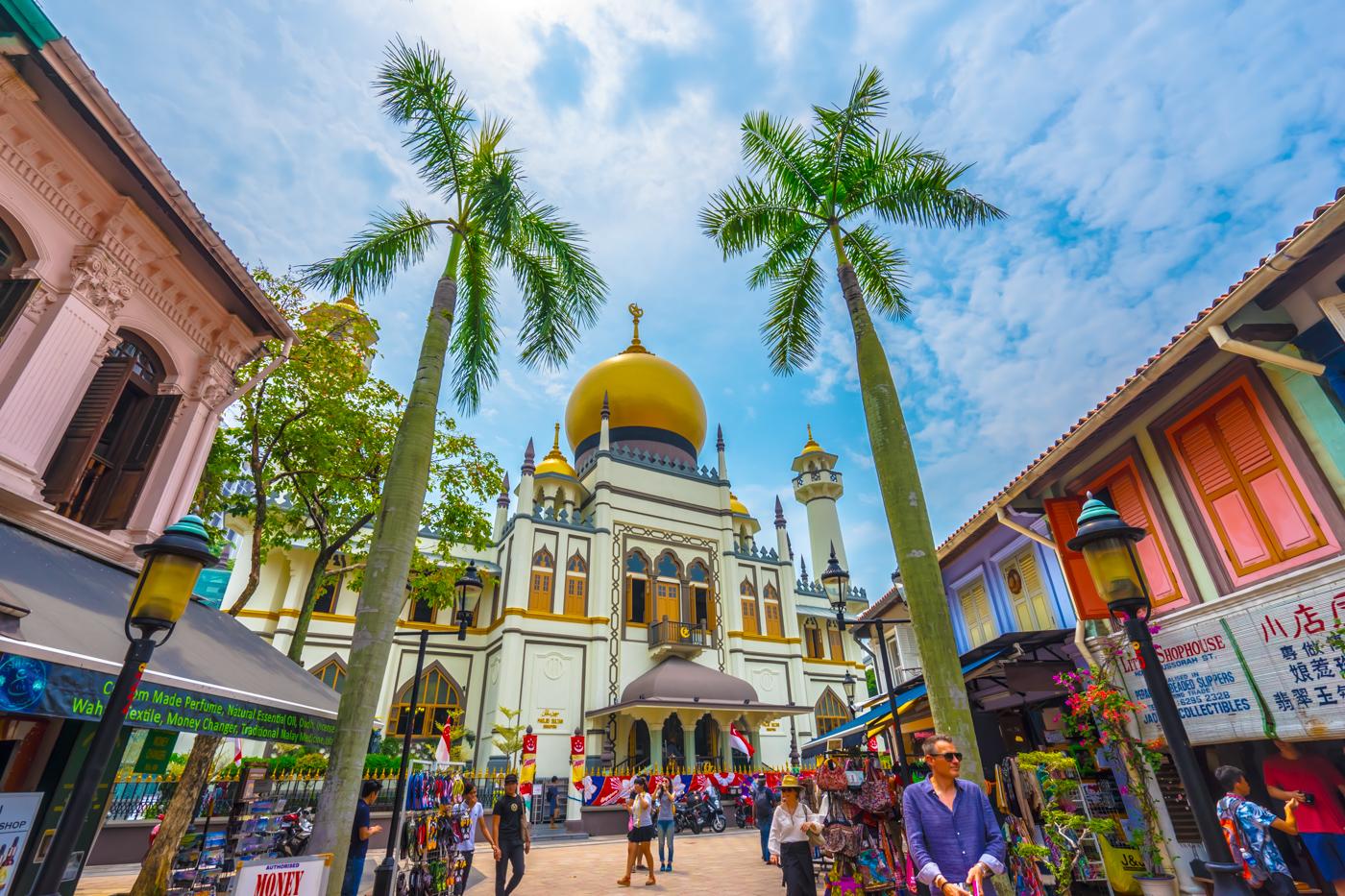 シンガポール アラブ・ストリート アイキャッチ画像