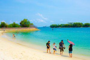 シンガポール セントーサ島 シロソビーチ アイキャッチ画像