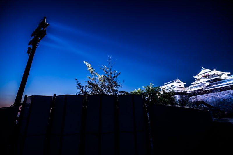 松山城 ライトアップ アイキャッチ画像
