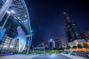 台湾 高雄 夜景 アイキャッチ画像