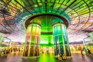 美麗島駅 光のショー アイキャッチ画像