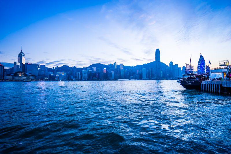 香港 尖沙咀 夕景 アイキャッチ画像