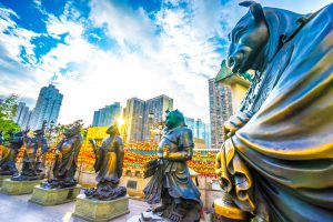 香港 黄大仙祠 アイキャッチ画像