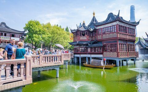 中国 上海 豫園 アイキャッチ画像
